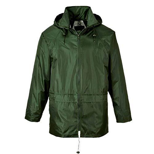 World Uomo Workwear Impermeabile Olive Giacca BwF4U
