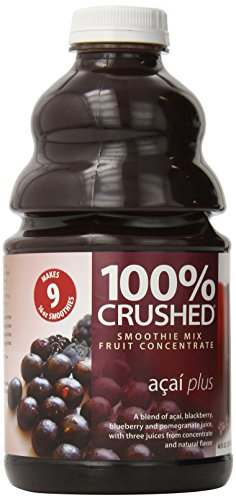 Dr. Smoothie 100% Crushed Fruit Smoothie, Acai Plus, 46-Ounce Bottles (Pack of 2) ()
