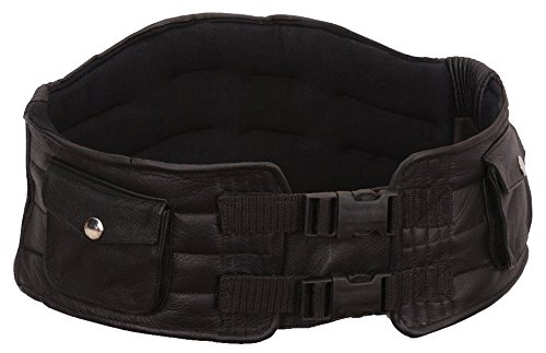 First Manufacturing Back Support Belt (Black, Large) by First Mfg Co