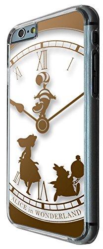 459-Vintage Clock Alice in Wonderland Design Für alle iphone 6 4.7'' / iphone 6 plus 5.5'' / iphone 4 4S / iphone 5 5S / iphone 5C Hülle Fashion Trend Case Back Cover Metall und Kunststoff - Bitte wäh