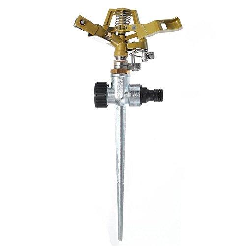 Zinc Alloy 360 Degree Rotary Irrigation Sprayer Sprinkler for Home Garden Yard Lawn Watering Supplies Gardening Tools Device - Dial Sprinkler
