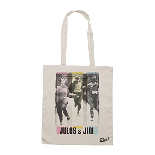 Borsa TRUFFAUT - JULES ET JIM - Sand - FILM by Mush Dress Your Style