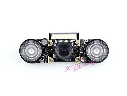 [RPi Camera (F)] Raspberry-pi Camera Module OV5647 sensor HD video Webcam 5MP 1080p Supports Night Vision for Raspberry Pi model B B+ A+ Pi 3 2 1 Development board module kit @XYGStudy by XYG-Raspberry Pi