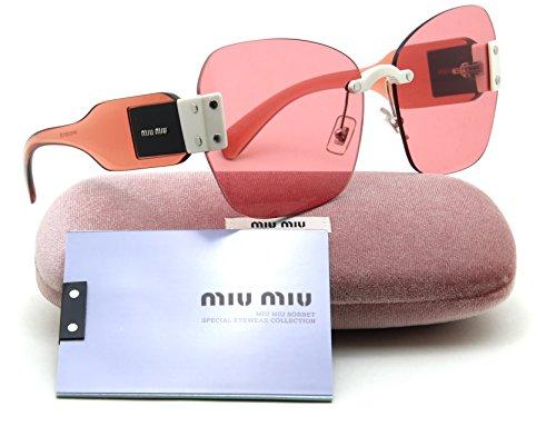 Miu MIu 08SS Women 2017 RUNWAY - SORBET SUNGLASSES - Pink Miu Sunglasses Miu