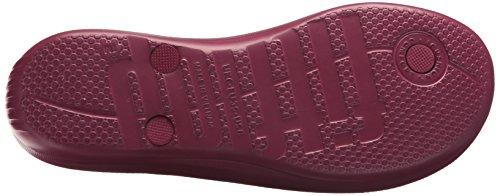 Fitflop Womens Iqushion: Infradito Ergonomico - Sandalo Scorrevole In Cristallo Con Marmellata Di Prugne