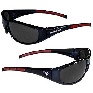 NFL 3-Dot Wrap Sunglasses (Houston texans)