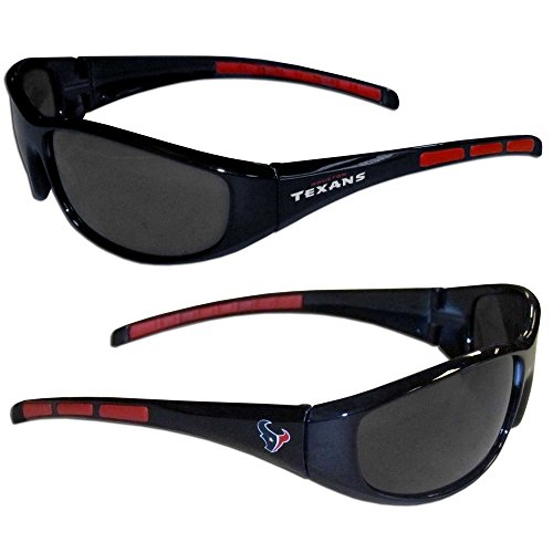 Purchadise NFL 3-Dot Wrap Sunglasses (Houston texans)
