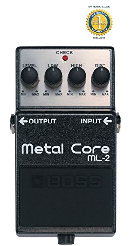 Boss ML-2 Metal Core Distortion Pedal with 1 Year Free Exten