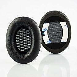 Replacement Ear Cushions For Bose Quietcomfort 2 (Qc2) & Quietcomfort 15 (Qc15) Headphones