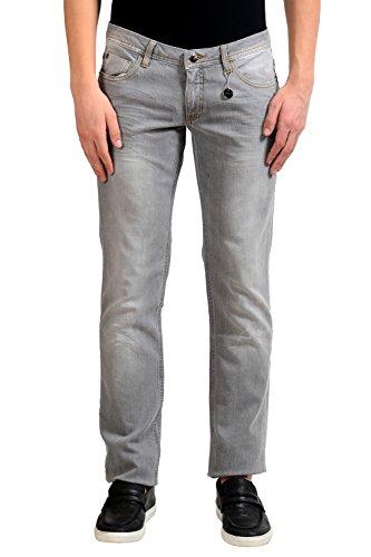 C'N'C Costume National Men's Gray Slim Jeans US 33 IT (Cnc Costume National Jeans)