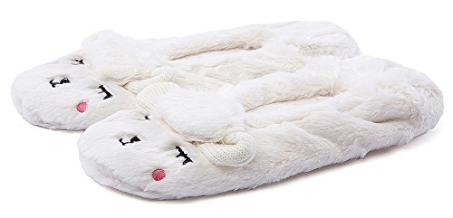 Beige Slippers Ladies Animal House Bedroom MaaMgic Winter Cute Christmas Womens Fuzzy Knit Indoor Slippers 7ap7xOq6Bw