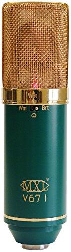 MXL V67i Large, Dual diaphragm Condenser Microphone