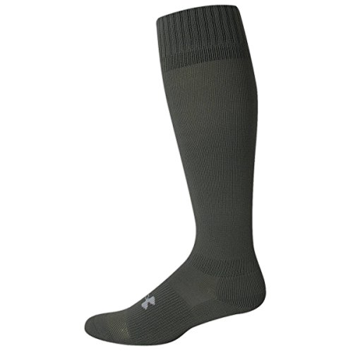 (Men's HeatGear? Boot Sock Socks by Under Armour (X-Large/Black))