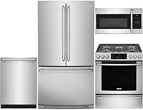 Electrolux 4-Piece Stainless Steel Kitchen Package