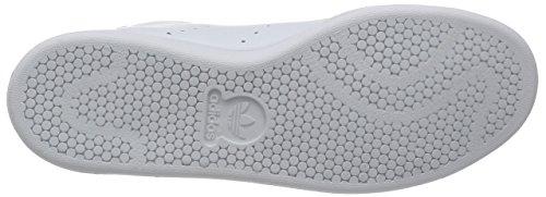adidas Stan Smith Mid, Zapatillas Altas para Hombre Blanco (Ftwwht/Ftwwht/Green)