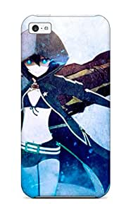 Fashion Tpu Case For Iphone 5c- Black Rock Shooter Defender Case Cover