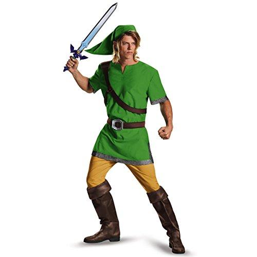 Legend Of Zelda Link Costume Belt (Legend Of Zelda Funny Adult Halloween Costume Men prime)
