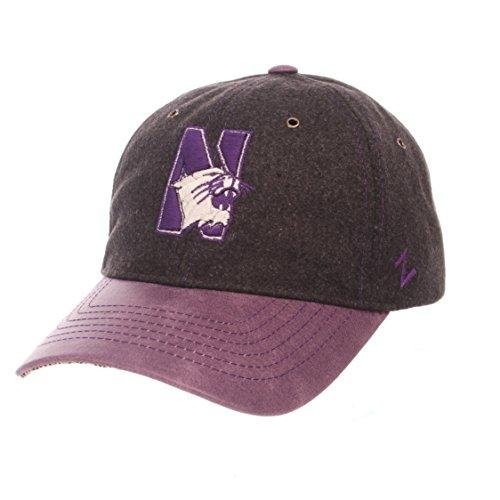 - NCAA Northwestern Wildcats Men's Alum Heritage Collection Hat, Adjustable, Heather Gray