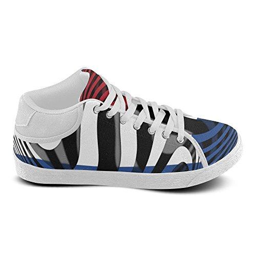 Interestprint La Bandiera Dei Paesi Bassi Chukka Sneakers Donna Scarpe Di Tela