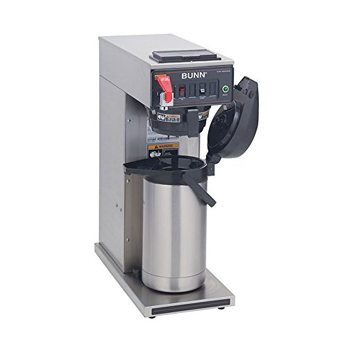 (Bunn 23001.0006 CWTF15-APS Automatic Airpot Coffee Brewer, 3.8 Gallons Per Hour (Airpot Sold)