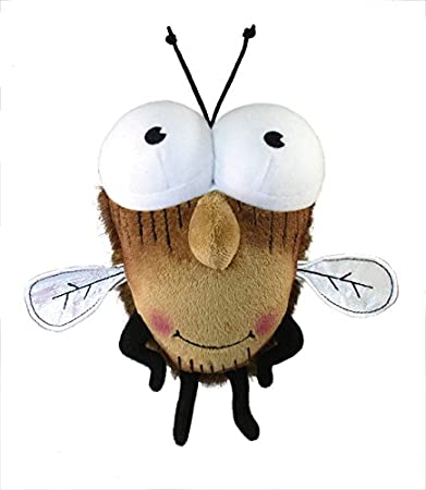 MerryMakers Fly Guy Plush Doll, 8-Inch Tedd Arnold Merrymakers Distribution 1623 Toys