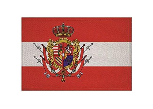 U24/toppa Granducato di Toscana con Stemma Applicazione Patch 9/x 6/cm