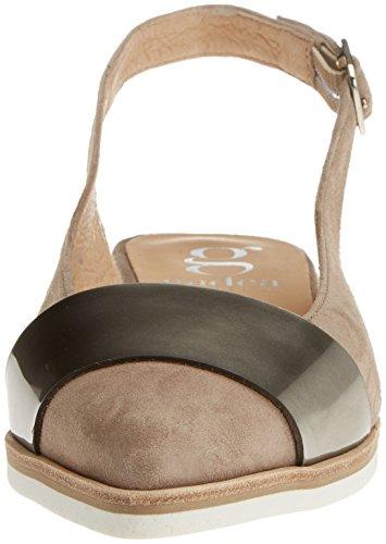 con Varios Tobillo Correa Colores Ante Mujer Gadea Zapatos para 40531 de Stone Likid Laton E8UZq