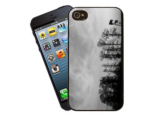 Bäume im Nebel iPhone Case - passen diese Abdeckung Apple Modell 4 und 4 s - von Eclipse-Geschenk-Ideen