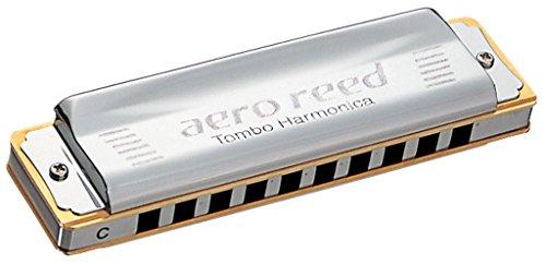 TOMBO Aero Reed Key of C 10 holes Harmonica (Aero Gate)