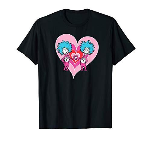 Dr. Seuss Thing 1 Thing 2 Love T-shirt -