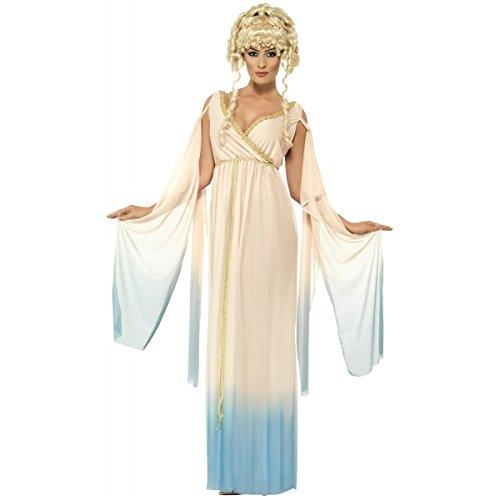 Smiffy's Women's Greek Princess Costume with Dress and Headpiece, Multi, Medium ()