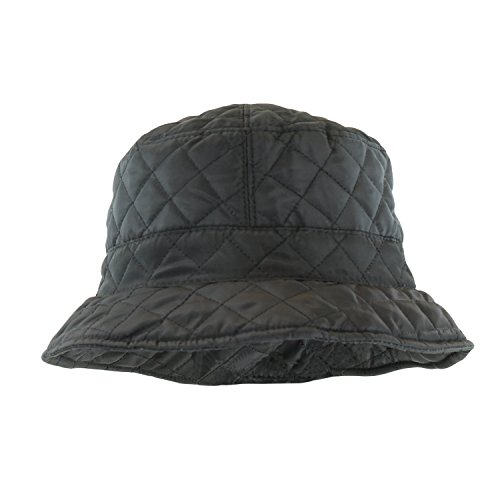 bb7d0400 ANGELA & WILLIAM Foldable Water Repellent Quilted Rain Hat w/Adjustable  Drawstring, Bucket Cap - Buy Online in Oman. | Apparel Products in Oman -  See Prices ...