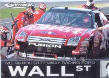 2008 Press Pass Speedway #90 Carl Edwards Wall ()