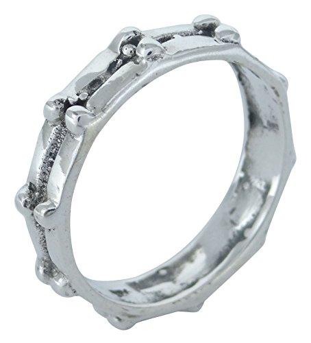 Banithani 925 argent sterling doigt étonnant anneau de bande indienne de bijoux fantaisie