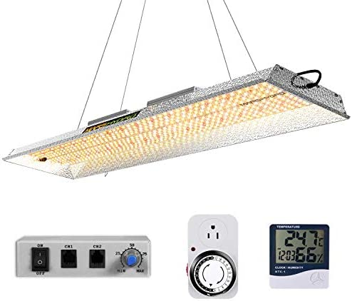 MARS HYDRO TSL 2000W Led Grow Light Daisy Chain Dimmable 2x4ft 3x5ft Full Spectrum Grow Light for Indoor Plants Veg Bloom Light with 684pcs LEDs Commercial Hydroponic Growing Lights for Greenhouse