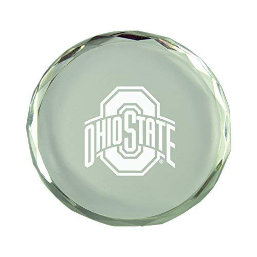 Crystal Ohio State - Ohio State University-Crystal Paper Weight