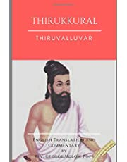 Thirukkural: English Translation and Commentary by G U Pope