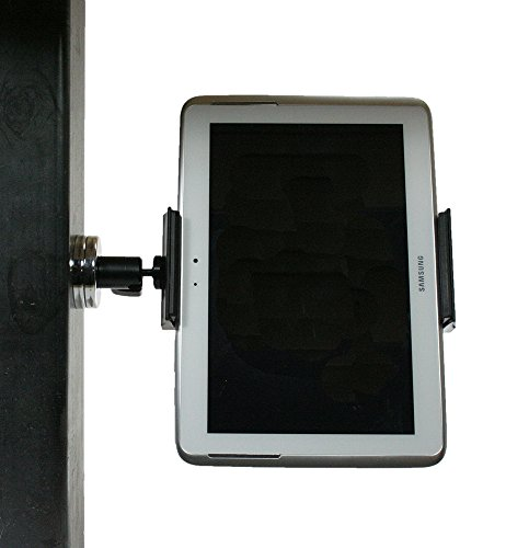 Livestream Gear - Magnetic Tablet Mount for Streaming, Video, or Photos. Great for WOD; Fitness Streams at Home, or Gym. Works with Tablets, Phablets, Phones. (Pro Magnetic Tablet)