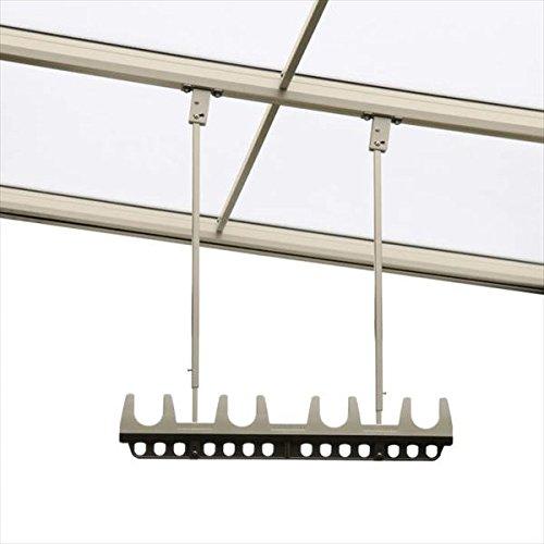 三協アルミ 竿掛け 吊り下げ型 調整式 ロング 2本入り SATV-03K-2L   『物干し 屋外』  アースブラウン(BNC) B075L326T7 10054 選択してください:アースブラウン(BNC) 選択してください:アースブラウン(BNC)