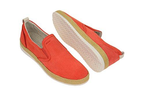 Geox 00022 Donna Dk Orange Espadrillas D774ea xx14wvS