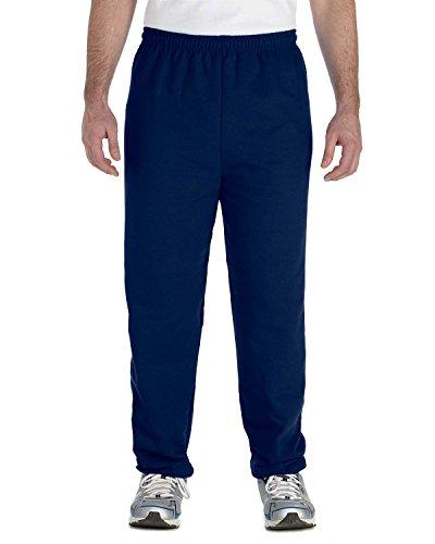 Gildan Adult 7.75 oz. Heavy Blend 50/50 Sweatpants in Navy -