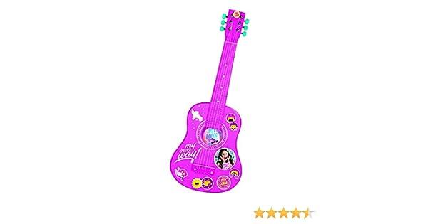Guitarra Madera Soy Luna Disney Color 65cm: Amazon.es: Juguetes y juegos