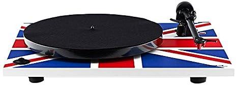 Rega RP1 - Tocadiscos con conexión RCA, multicolor: Amazon.es ...