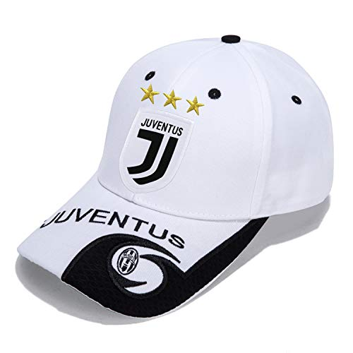 DanielFelix Juventus F.C. -Embroidered Authentic EPL Adjustable White Baseball Cap