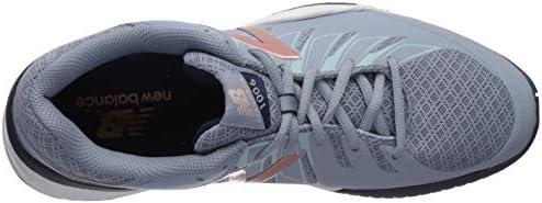 New Balance-Damen 1006v1 B Weite Tennisschuhe Reflection & Rose Gold (