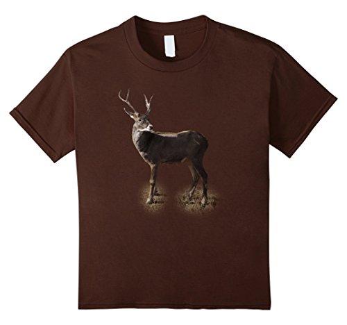 Doe Costume Deer (Kids Deer Hunting Buck Vintage Graphic T-Shirt 6)