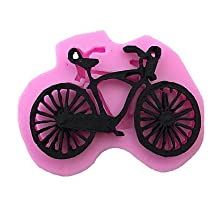 FMY Mountain Bike Cartoon Sugar Eggs Style Candy Fondant Cake Molds For The Kitchen Baking Molds