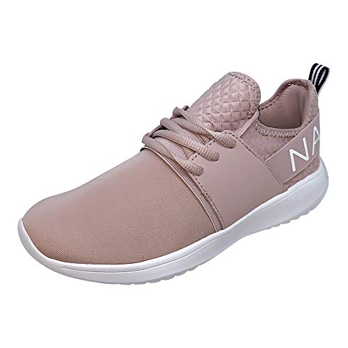 Nautica Women Fashion Sneaker Lace-Up Jogger Running Shoe