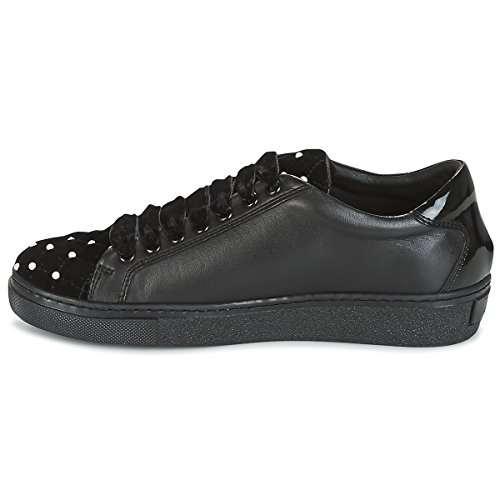 Tosca Pearl SF1704S062 Leather Cervinia Velvet Blu Sneaker 60nxq0Cpw