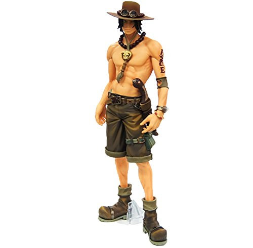 Figures Anime Resin - NEWNESS WORLD 1pc Anime One Piece Figure Series Ornament,Figure Resin Kits Garage Kits Simulation Figure Model Figures Collectible Model Toys Christmas Ornament(Ace pattern 3)